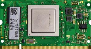 NVIDIA Tegra 2 Computer on Module - Colibri T20 - Front