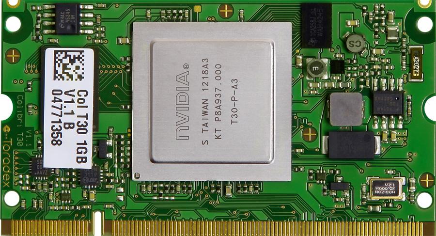 Nvidia Tegra 3 Computer On Module Colibri T30