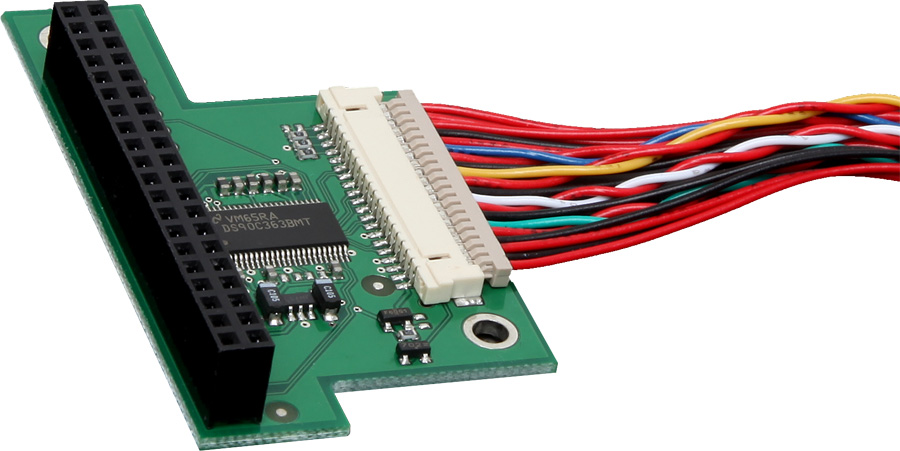 LVDS Converter for RGB to LVDS conversion