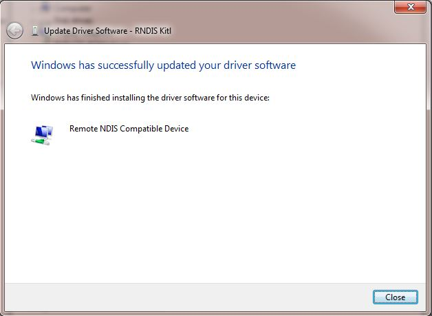 ARRIS RNDIS USB DRIVERS UPDATE