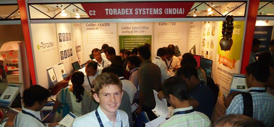 Toradex Booth @ ESC Bangalore 2013