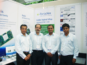 Toradex @ 4th SES of Defense & Aerospace in Bengaluru, 2013