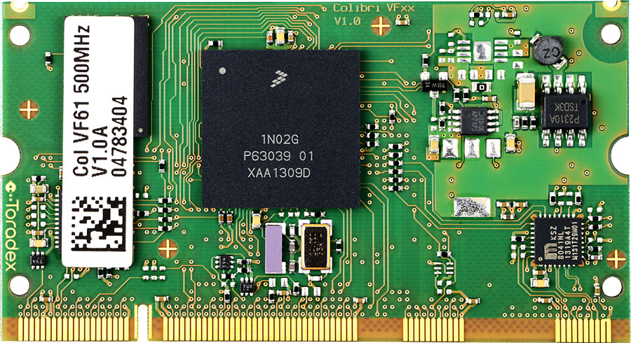 Nxp Freescale Vybrid Vf6xx Computer On Module Arm Cortex