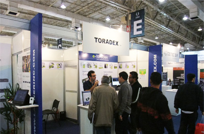 Toradex Booth - ESC expo, Brazil 2013