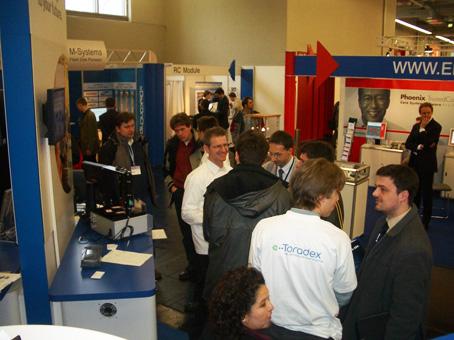 Toradex Booth - Embedded World 2005
