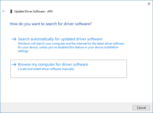 Search Driver Software