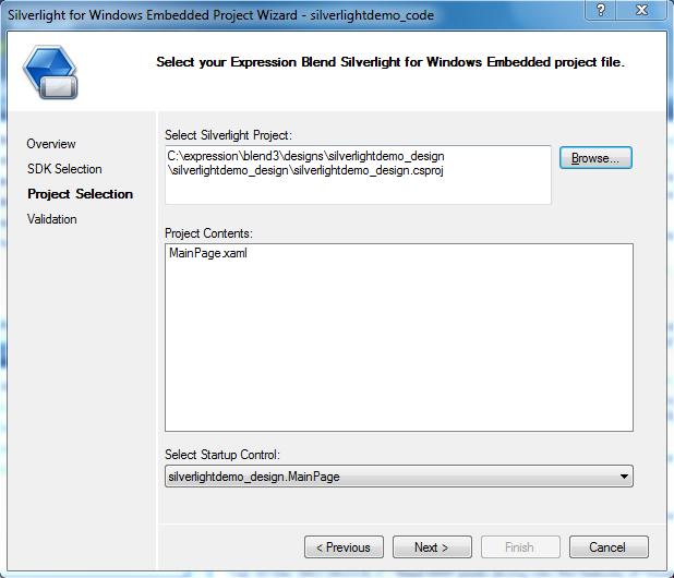 How to create a Silverlight/XAML Application