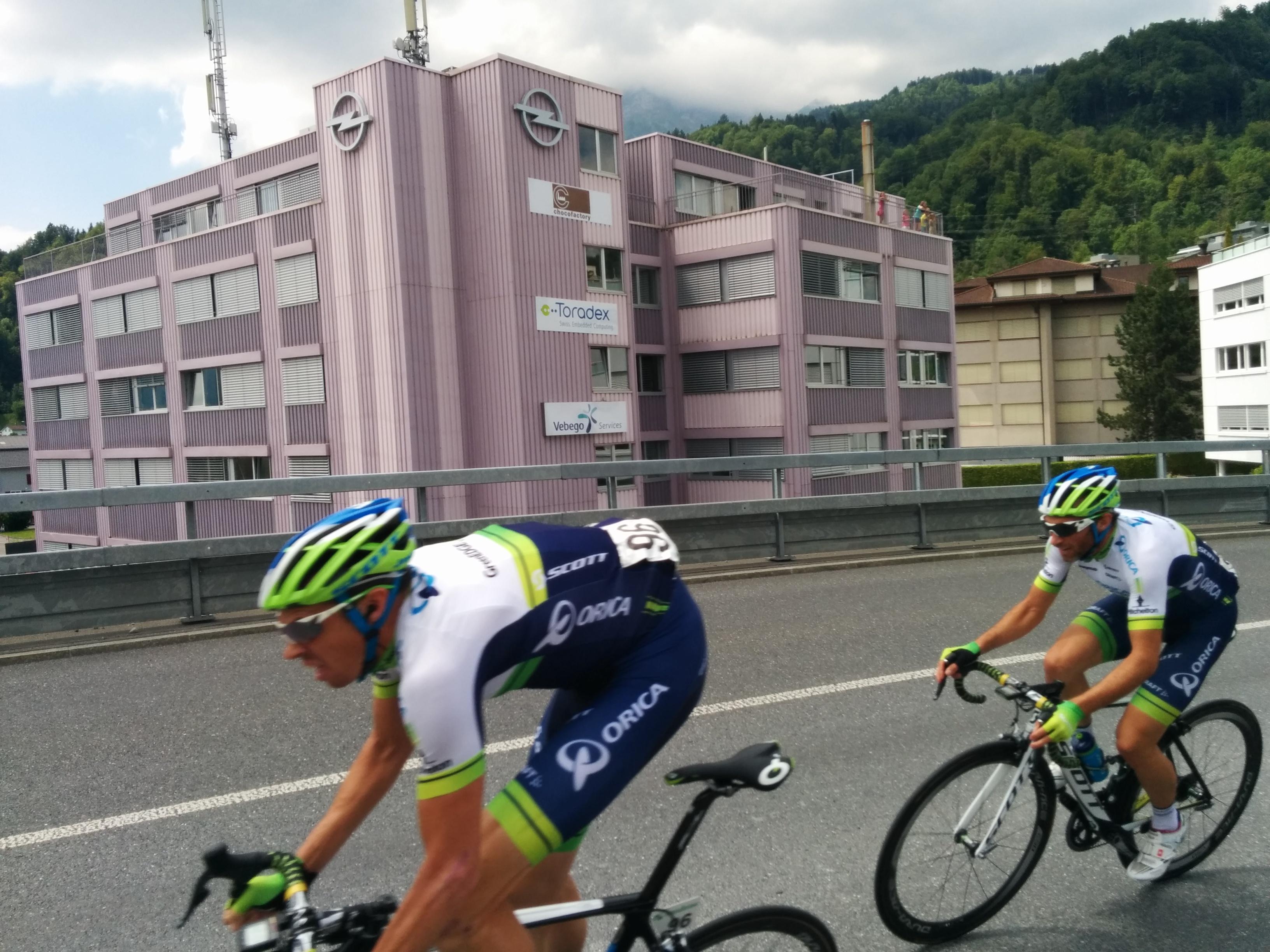 Tour de Suisse at Toradex Horw