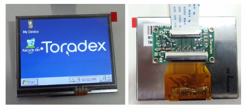 "Tianma 3.5"" LCD with Toradex Computer Module"