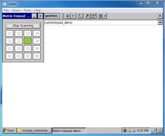 How to use Matrix Keypad