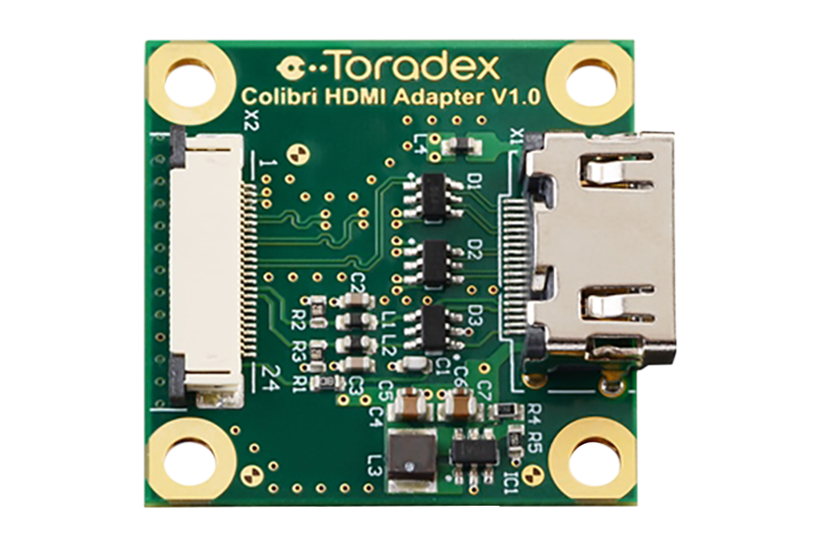HDMI Adapter - Colibri Tegra 2, 3 & IMX6 Modules
