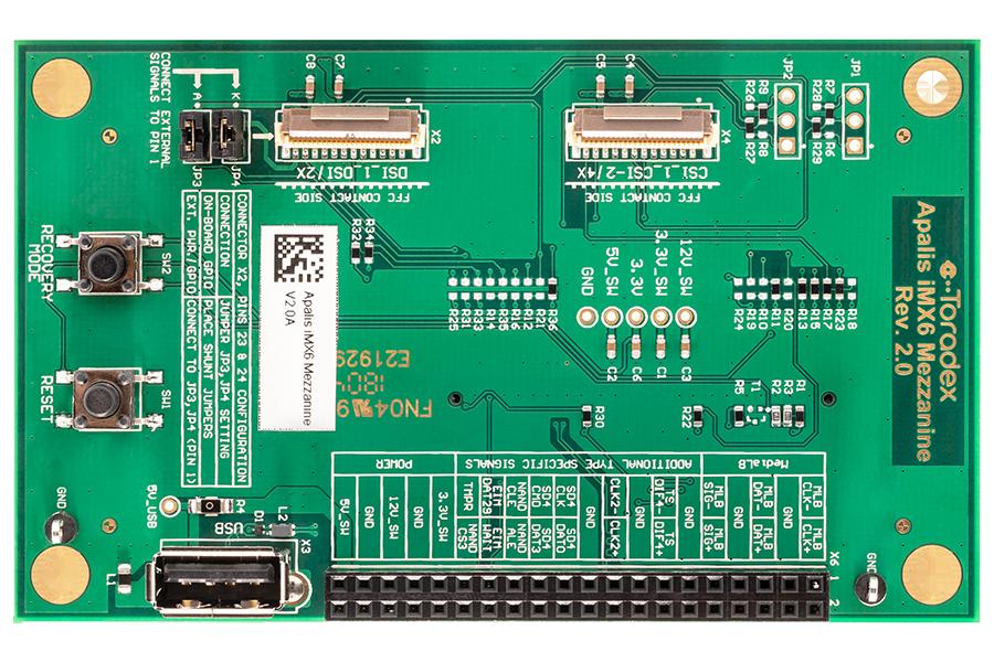NXP/Freescale i MX 6 Computer on Module - Apalis iMX6
