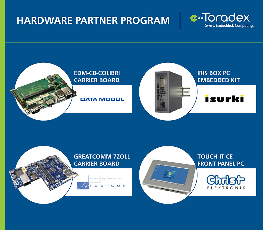 Toradex - Hardware Partner Network