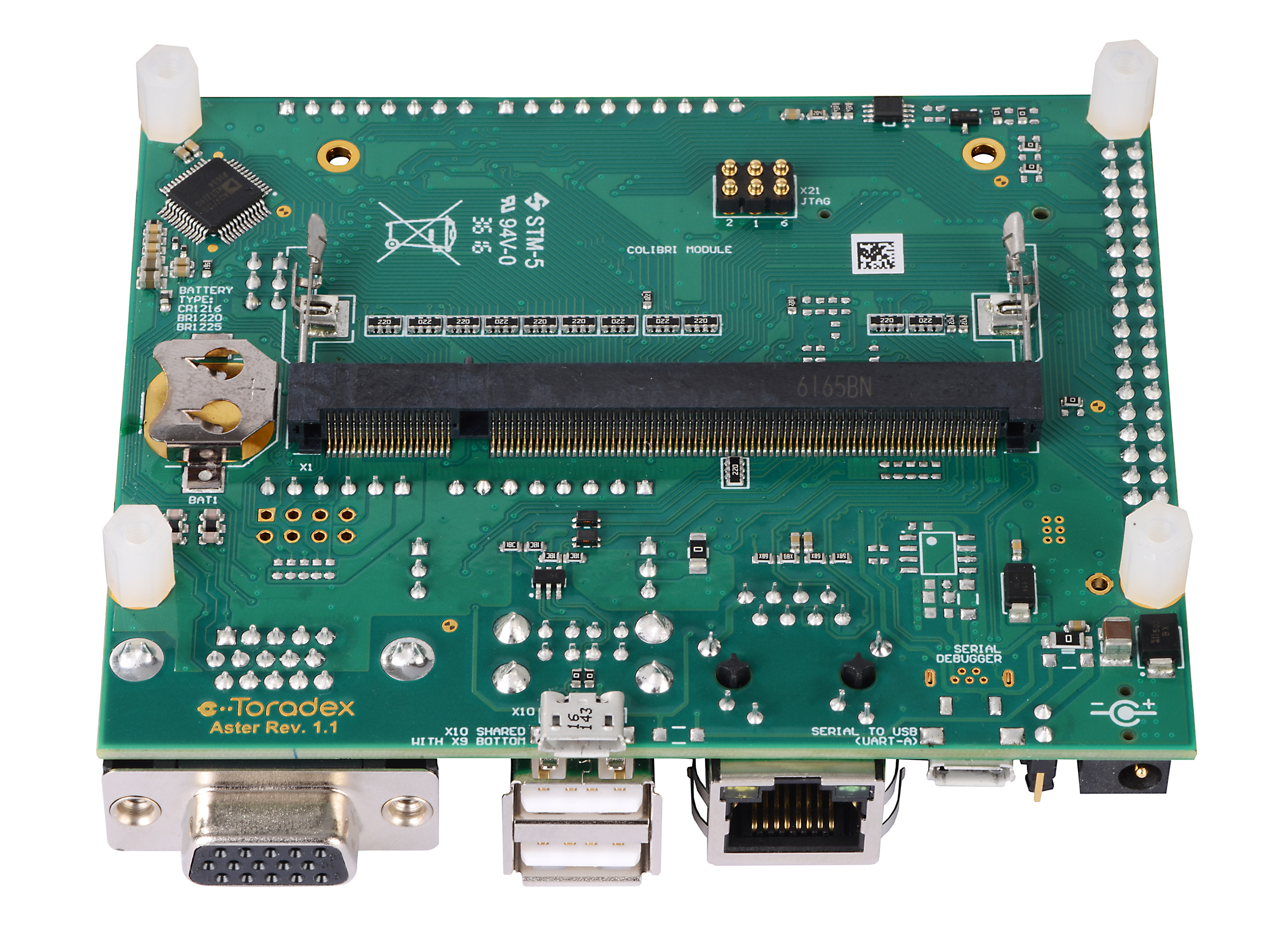Arduino, Raspberry Pi compatible  Compact - Aster Carrier Board