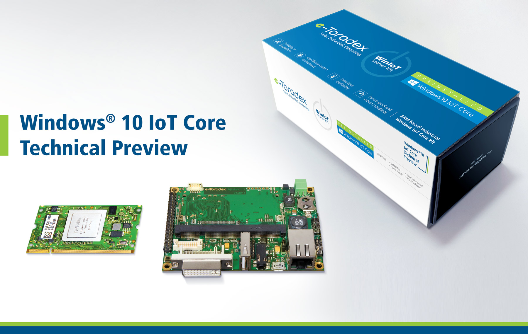 Toradex - Windows 10 IoT Core Technical Preview