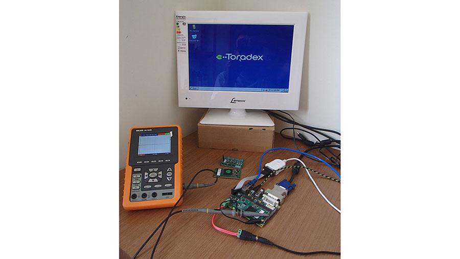Computer Hardware- Colibri VF61, Iris Module Carrier Board