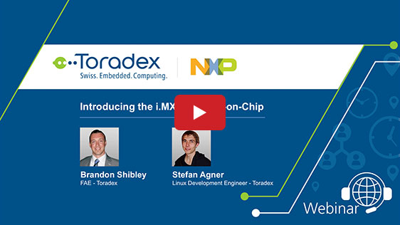 Introducing the i.MX 7 SoC - Toradex and NXP