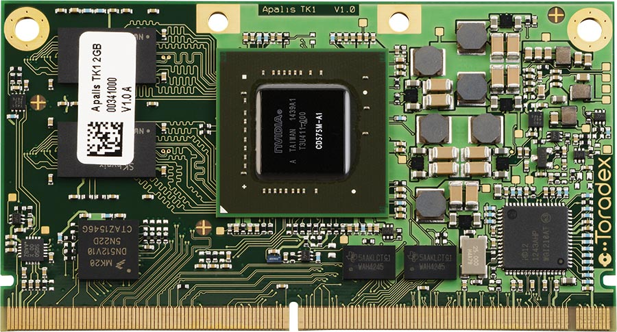 nvidia tegra k1 system  computer on module