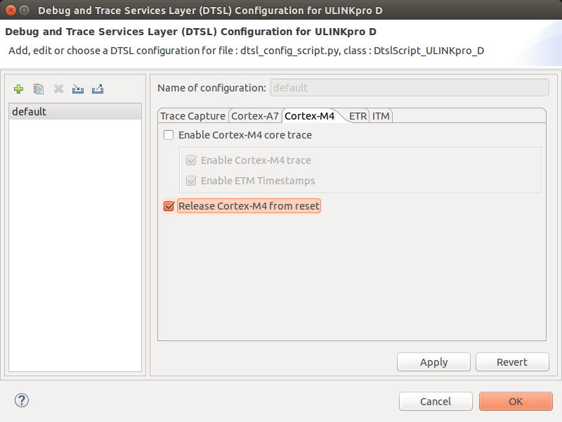 DS-5 Debug and Trace Services Layer