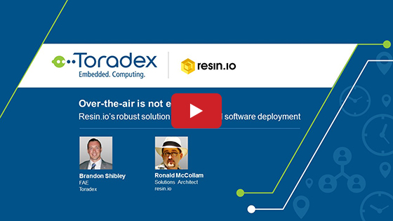 Over-the-air is not enough - Resin.io's robust solution for embedded software deployment