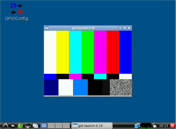 Video test pattern