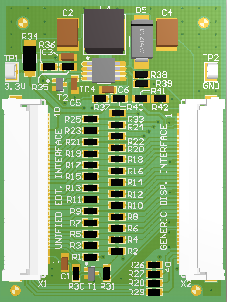 generic rgb display adapter board rh developer toradex com