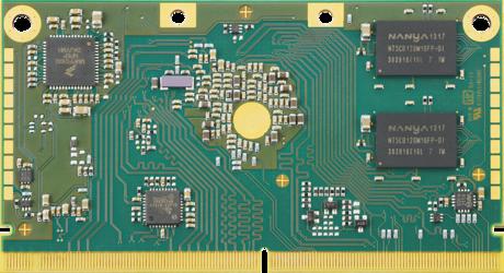 Apalis iMX6 System on Module - Back
