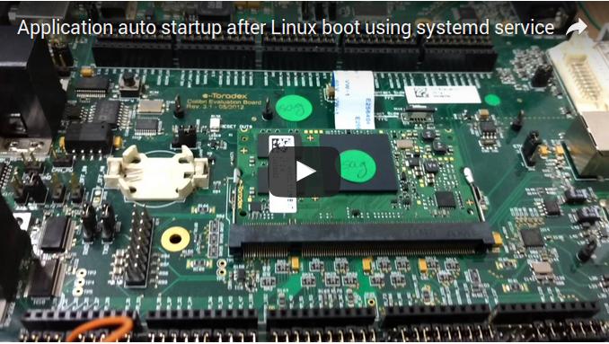 start application via systemd