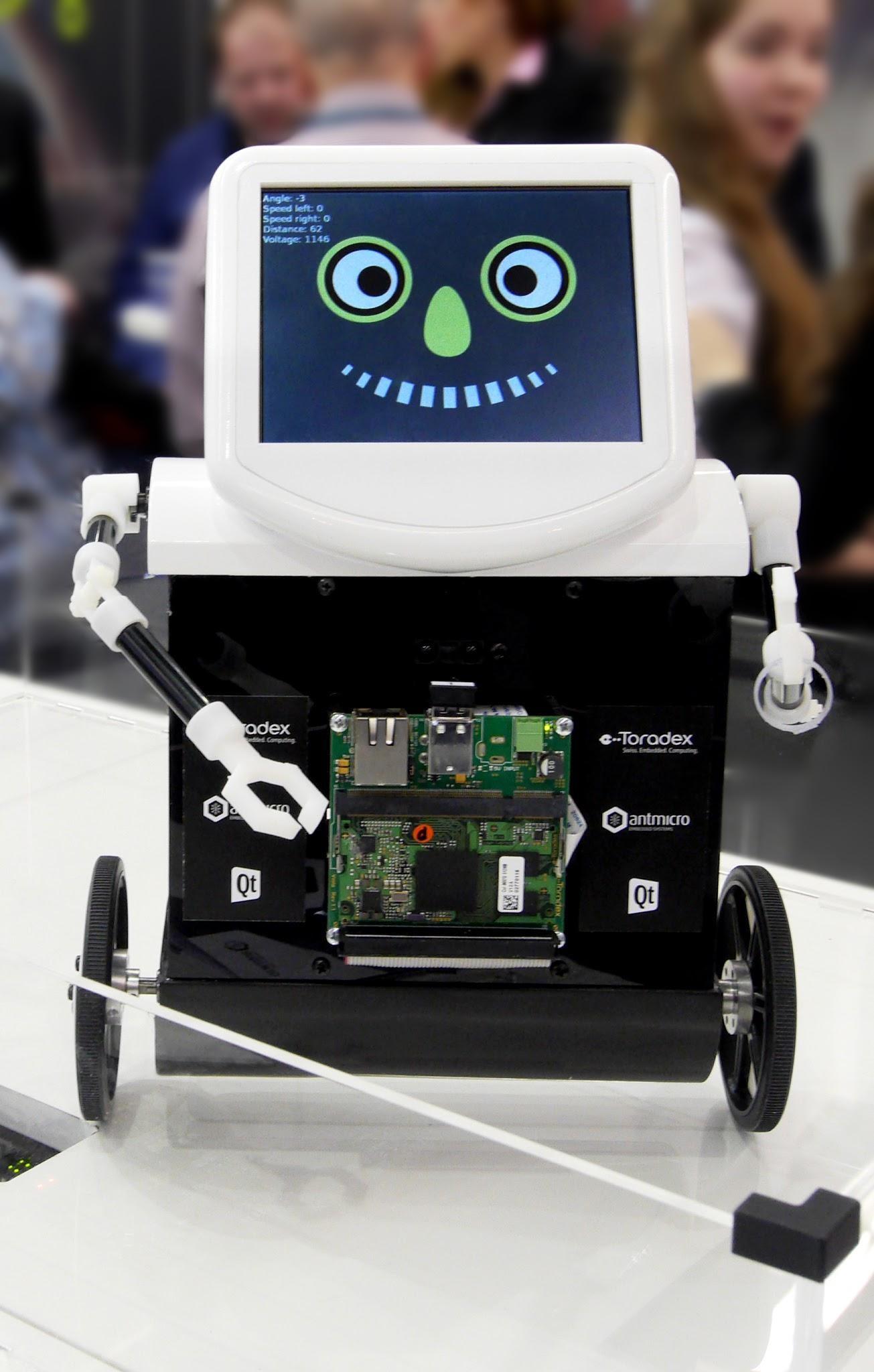 TAQ - self-balancing robot