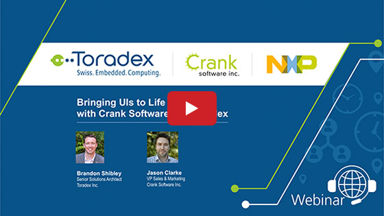 Bringing UIs to Life with Crank Software and Toradex