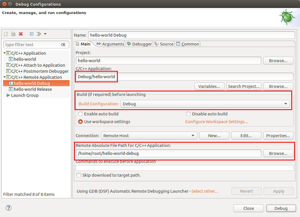 Debug Using Eclipse - Getting Started with Toradex