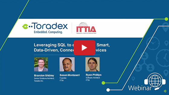Guest Webinar: Leveraging your SQL Knowledge to Easily Build Smart, Data-Driven, Connected Devices