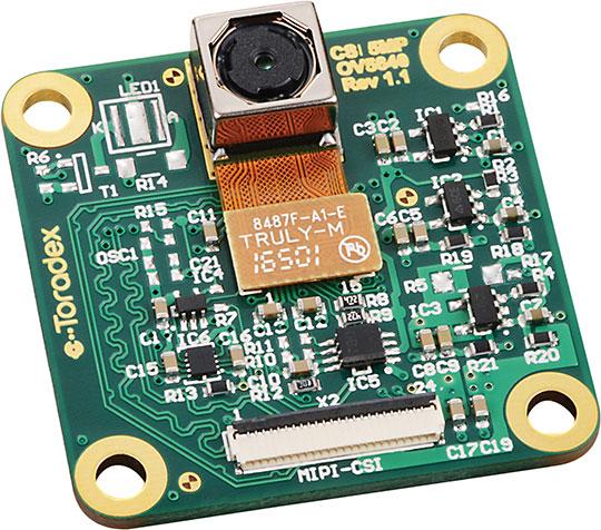 CSI カメラモジュール 5MP OV5640