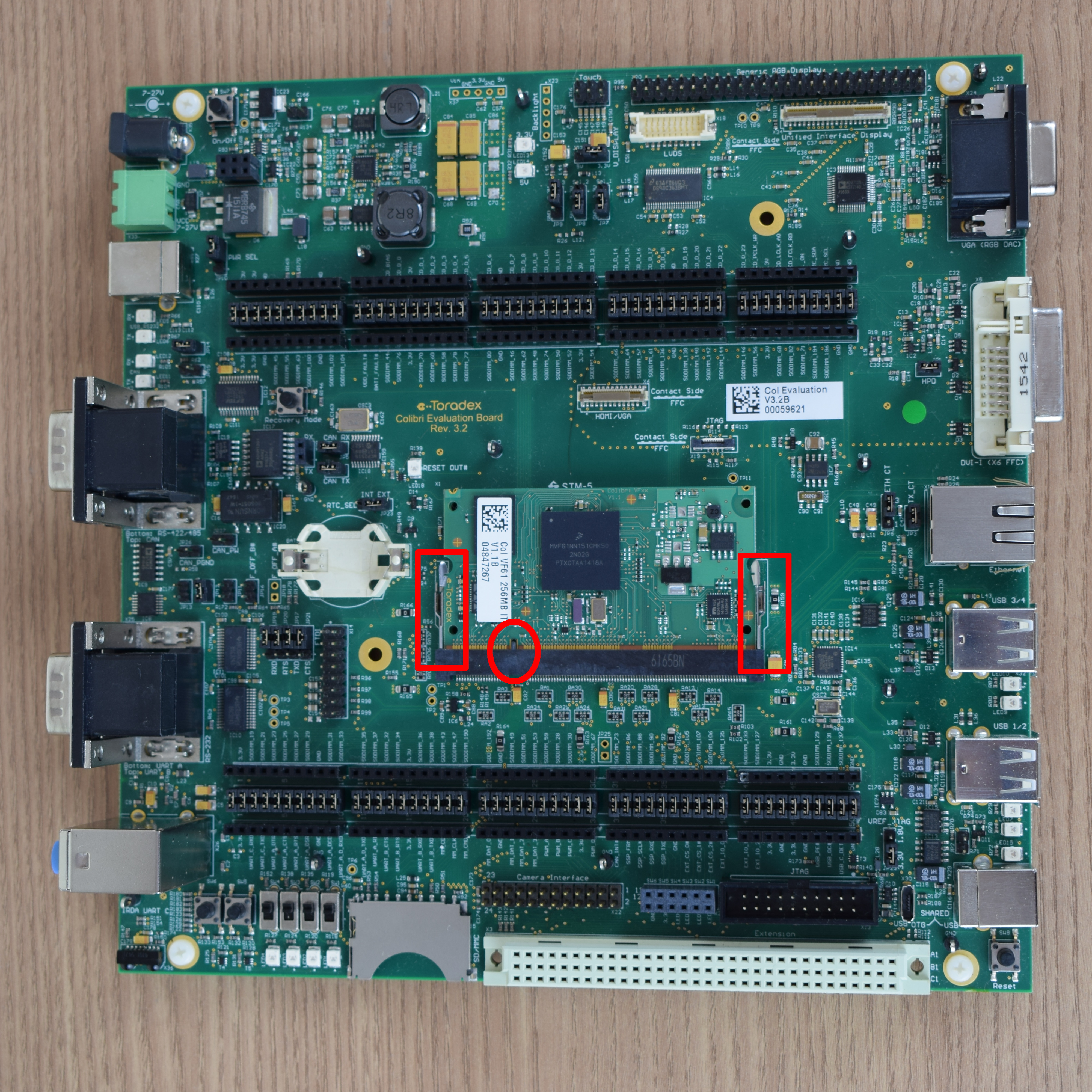 Unboxing and Setup Cables - Colibri Evaluation Board