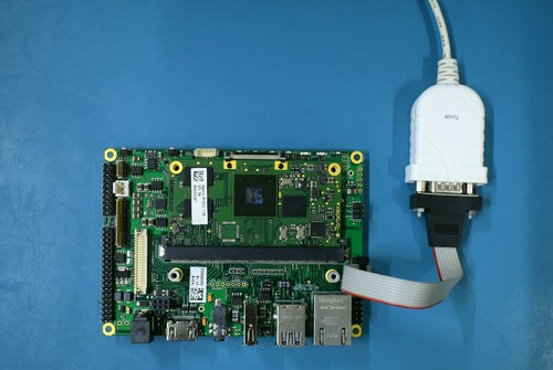 Serial setup for Ixora Carrier Board