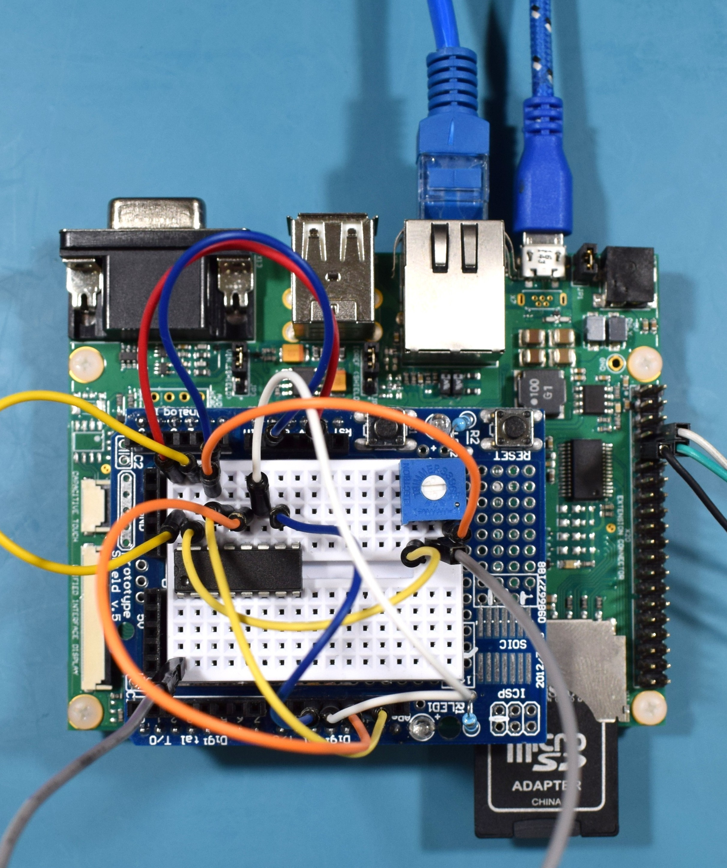 Aster Carrier Board - Connected 2