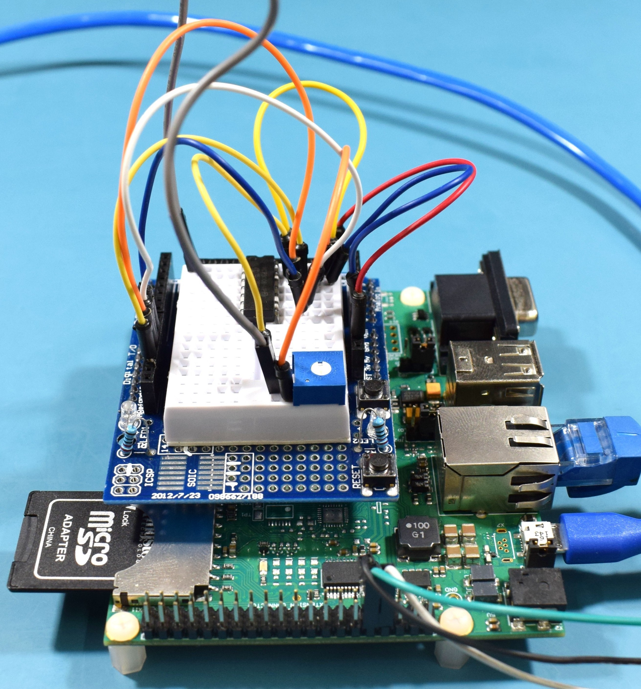 Aster Carrier Board - Connected 3