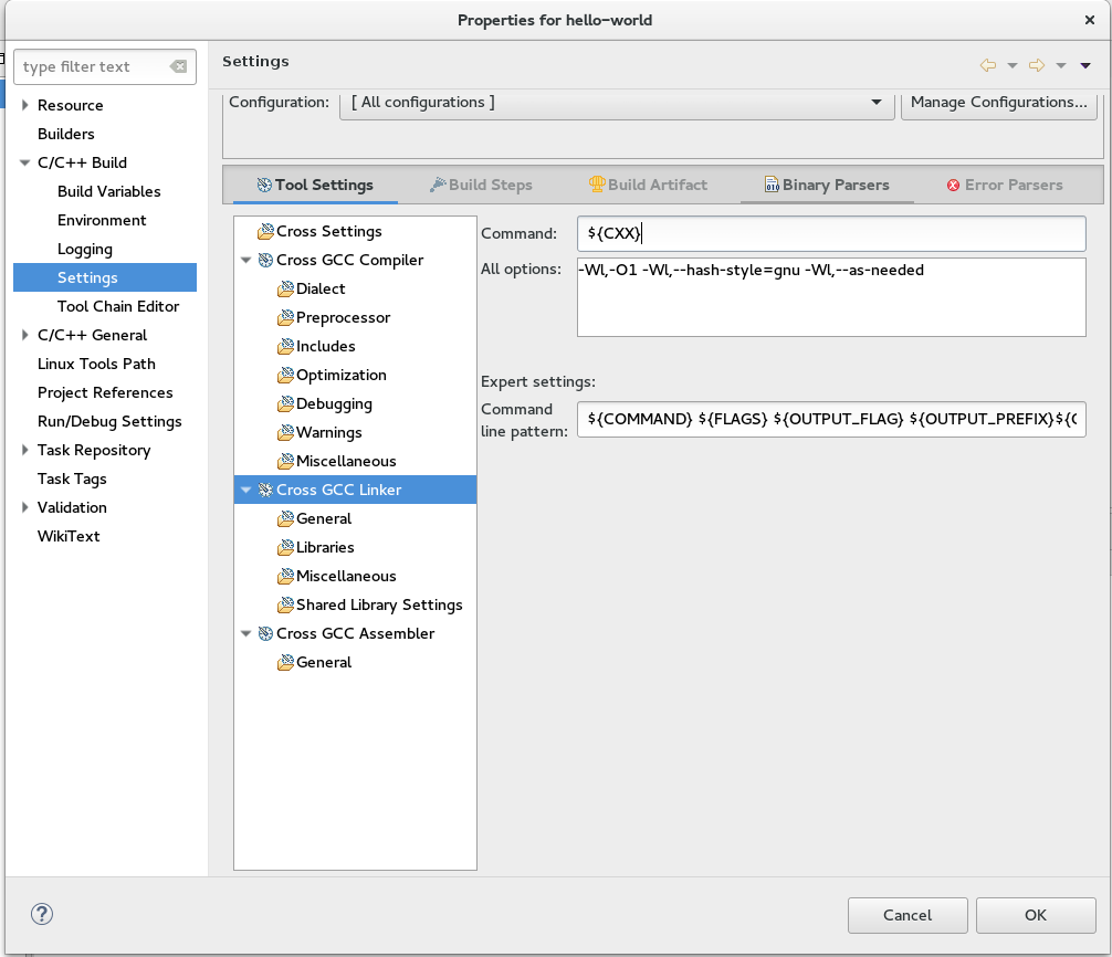 Configure Eclipse - Getting Started with Toradex