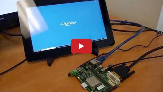 Live demo of web-based UI