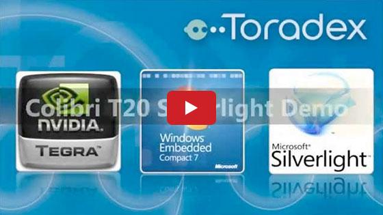 Toradex Colibri T20 Silverlight Demo with Nvidia Tegra 2