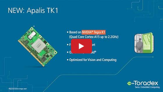 NVIDIA Tegra K1 System on Module - Apalis TK1 - EW 2016