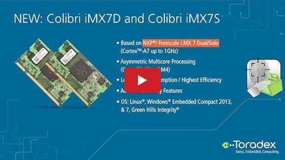 Embedded World 2016: Toradex - i.MX 7 System on Modules