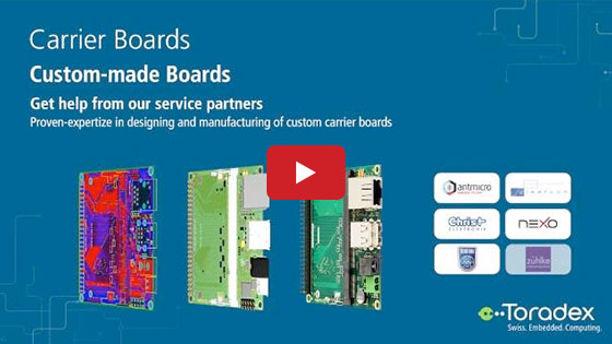 Carrier Boards by Toradex - EW 2016