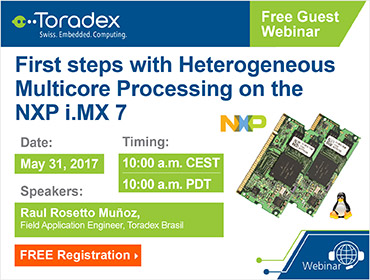 First steps with Heterogeneous Multicore Processing on the NXP i.MX 7