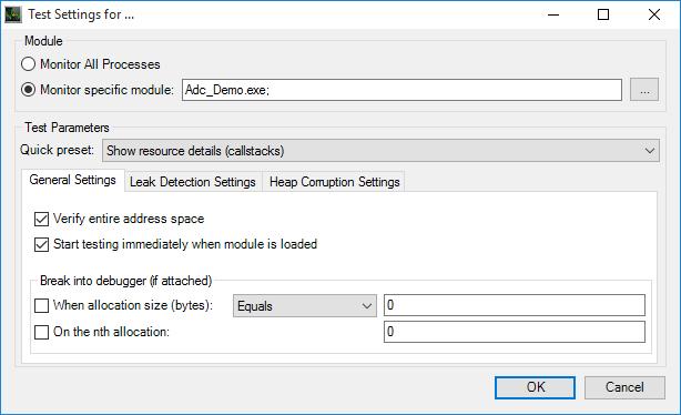 Memory Leak Detection (Windows...