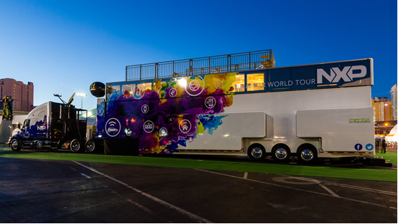 NXP Smarter World Tour truck