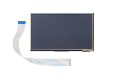Resistive Touch Display 7 Inch Parallel Front