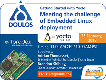 Getting Started with Yocto: Meeting the challenge of Embedded Linux deployment