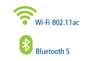wifi 802 11 ac and bluetooth 5 ready logo