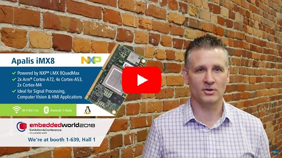 Toradex Update Feb 2018 - Embedded World